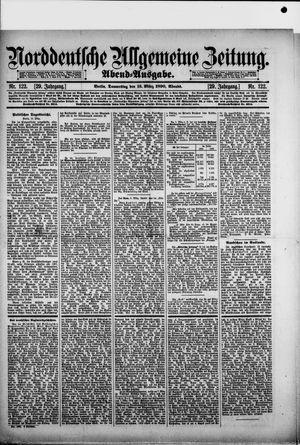 Norddeutsche allgemeine Zeitung vom 13.03.1890