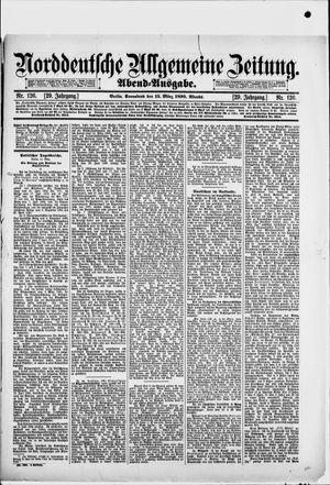 Norddeutsche allgemeine Zeitung vom 15.03.1890