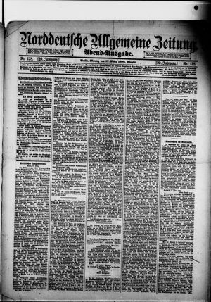 Norddeutsche allgemeine Zeitung vom 17.03.1890
