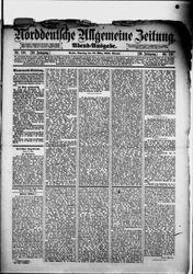 Norddeutsche allgemeine Zeitung (18.03.1890)