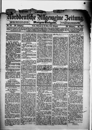 Norddeutsche allgemeine Zeitung vom 19.03.1890