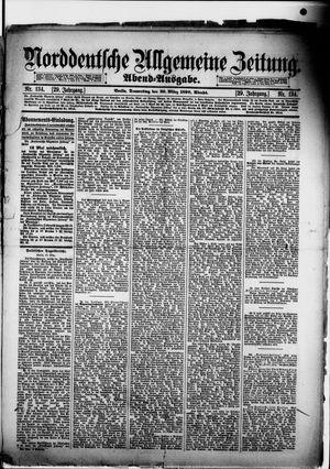 Norddeutsche allgemeine Zeitung vom 20.03.1890
