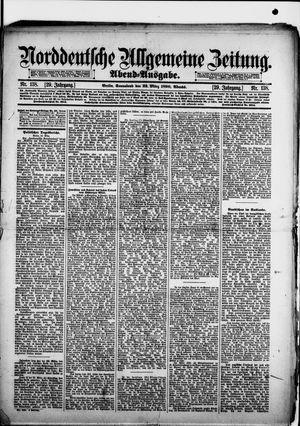 Norddeutsche allgemeine Zeitung vom 22.03.1890
