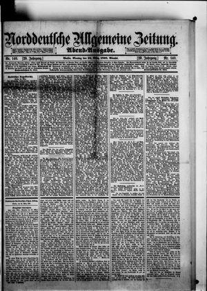 Norddeutsche allgemeine Zeitung vom 24.03.1890
