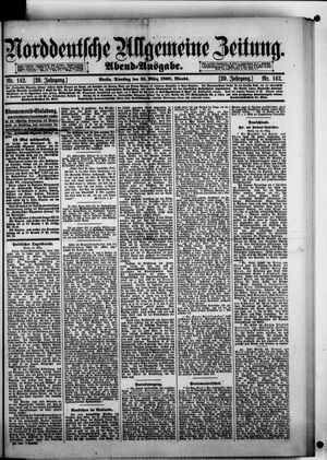Norddeutsche allgemeine Zeitung vom 25.03.1890