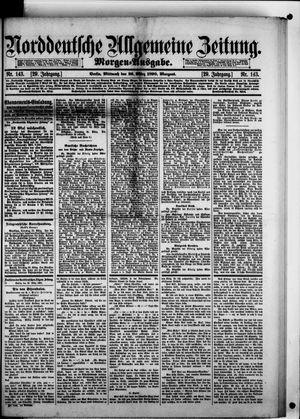 Norddeutsche allgemeine Zeitung vom 26.03.1890