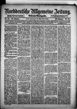 Norddeutsche allgemeine Zeitung vom 27.03.1890