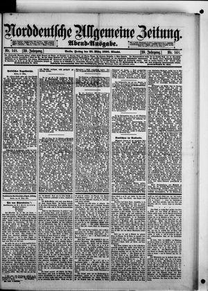 Norddeutsche allgemeine Zeitung vom 28.03.1890