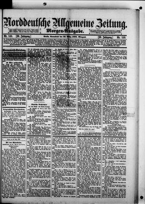 Norddeutsche allgemeine Zeitung on Mar 29, 1890