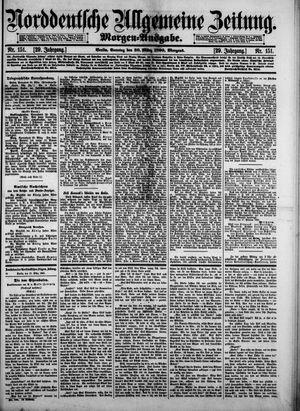 Norddeutsche allgemeine Zeitung vom 30.03.1890