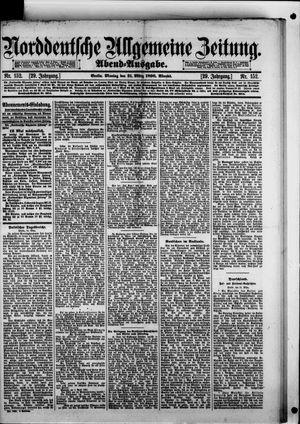 Norddeutsche allgemeine Zeitung vom 31.03.1890
