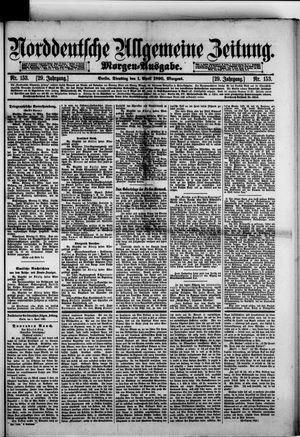 Norddeutsche allgemeine Zeitung vom 01.04.1890
