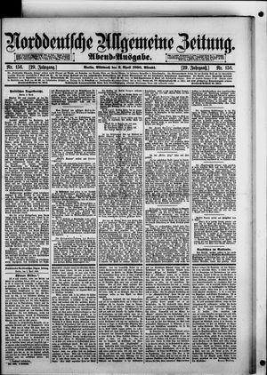 Norddeutsche allgemeine Zeitung vom 02.04.1890