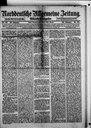 Norddeutsche allgemeine Zeitung vom 05.04.1890