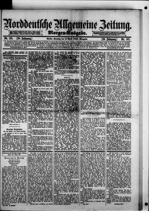 Norddeutsche allgemeine Zeitung vom 06.04.1890