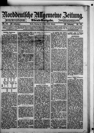 Norddeutsche allgemeine Zeitung vom 08.04.1890
