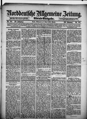 Norddeutsche allgemeine Zeitung vom 09.04.1890