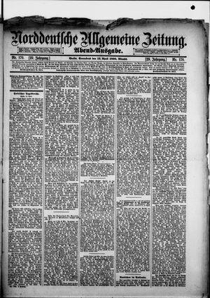 Norddeutsche allgemeine Zeitung vom 12.04.1890