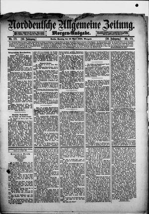 Norddeutsche allgemeine Zeitung vom 13.04.1890