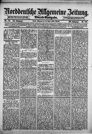 Norddeutsche allgemeine Zeitung vom 16.04.1890