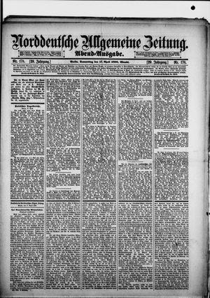 Norddeutsche allgemeine Zeitung vom 17.04.1890