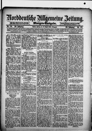 Norddeutsche allgemeine Zeitung vom 18.04.1890