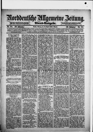 Norddeutsche allgemeine Zeitung vom 21.04.1890