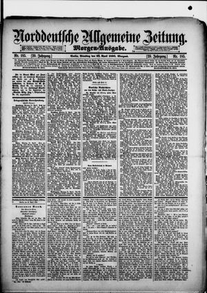 Norddeutsche allgemeine Zeitung vom 22.04.1890