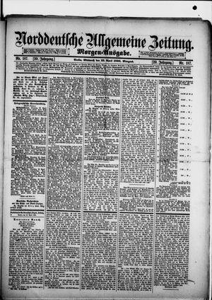 Norddeutsche allgemeine Zeitung vom 23.04.1890