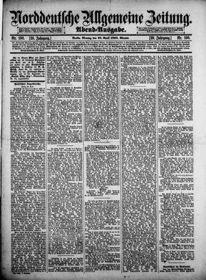 Norddeutsche allgemeine Zeitung vom 28.04.1890