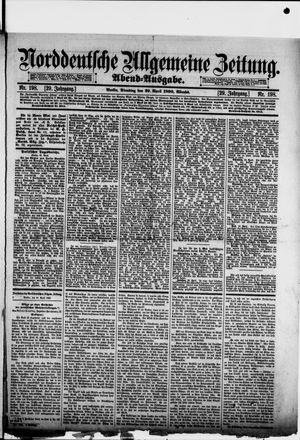 Norddeutsche allgemeine Zeitung vom 29.04.1890