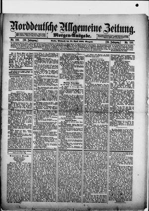 Norddeutsche allgemeine Zeitung vom 30.04.1890