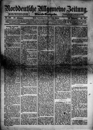 Norddeutsche allgemeine Zeitung vom 01.05.1890