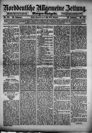Norddeutsche allgemeine Zeitung vom 03.05.1890