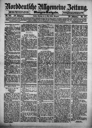Norddeutsche allgemeine Zeitung vom 04.05.1890