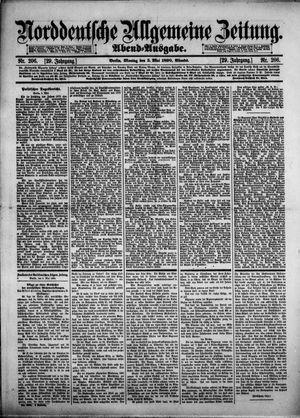 Norddeutsche allgemeine Zeitung vom 05.05.1890