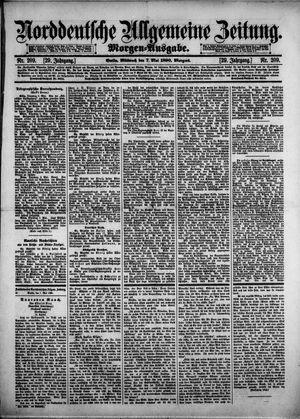 Norddeutsche allgemeine Zeitung vom 07.05.1890
