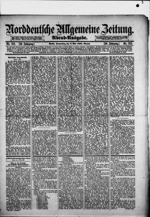 Norddeutsche allgemeine Zeitung vom 08.05.1890