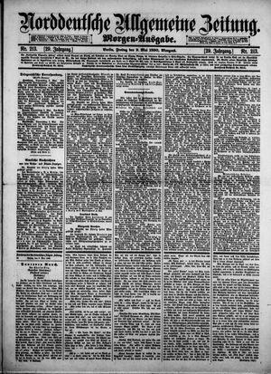 Norddeutsche allgemeine Zeitung vom 09.05.1890