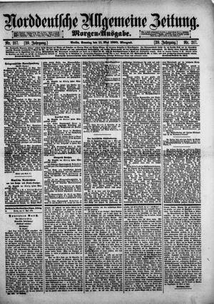 Norddeutsche allgemeine Zeitung vom 11.05.1890