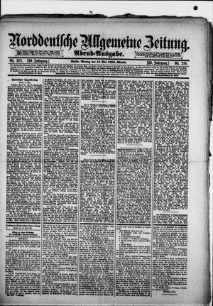 Norddeutsche allgemeine Zeitung vom 12.05.1890