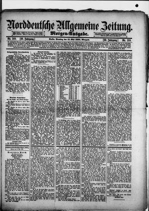 Norddeutsche allgemeine Zeitung vom 13.05.1890