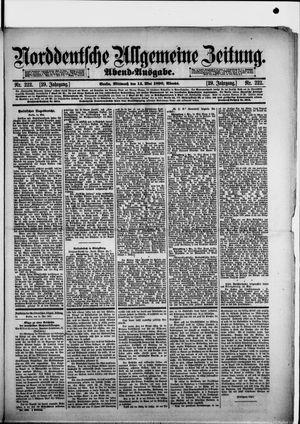 Norddeutsche allgemeine Zeitung vom 14.05.1890