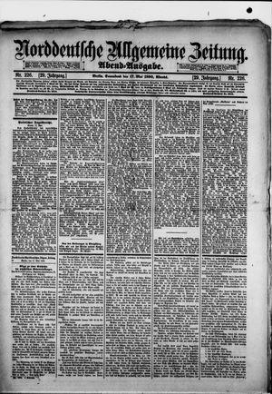 Norddeutsche allgemeine Zeitung vom 17.05.1890