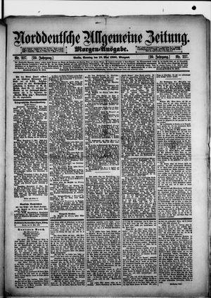 Norddeutsche allgemeine Zeitung vom 18.05.1890