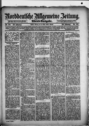 Norddeutsche allgemeine Zeitung vom 19.05.1890