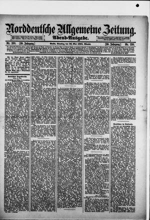 Norddeutsche allgemeine Zeitung vom 20.05.1890