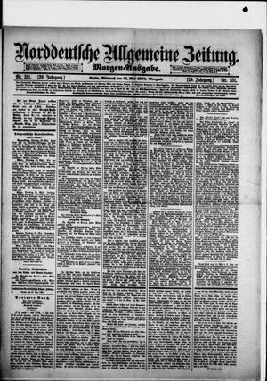 Norddeutsche allgemeine Zeitung vom 21.05.1890