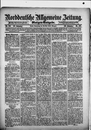 Norddeutsche allgemeine Zeitung vom 22.05.1890