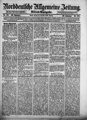 Norddeutsche allgemeine Zeitung vom 23.05.1890